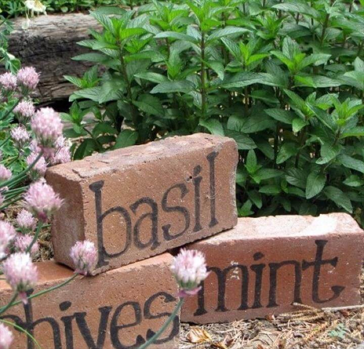 20 Easy Handmade Plant Label Amp Marker Ideas Diy To Make