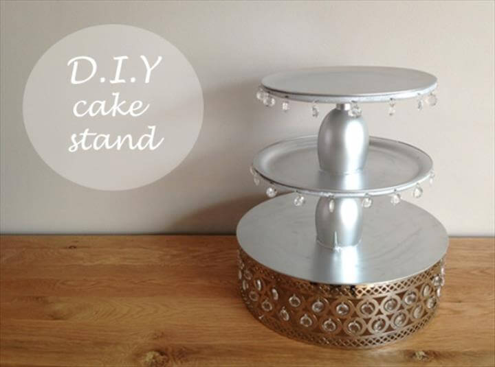D.I.Y Cake Stand The Asian Fashion Journal