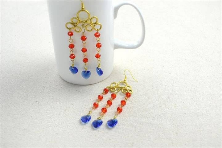 Diy Chandelier Earrings Inspired By Stunning Wire Wrap Arts