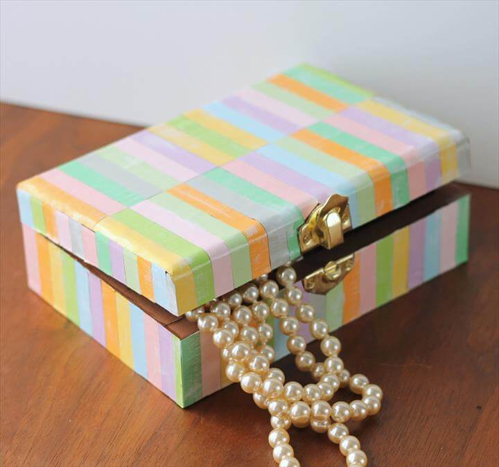 Colorful Mother's Day DIY Jewelry Box