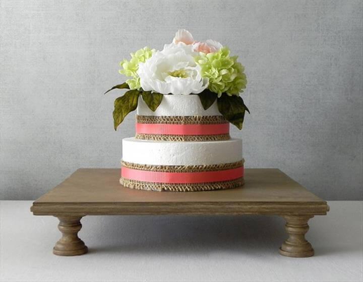 amazing diy cake stand