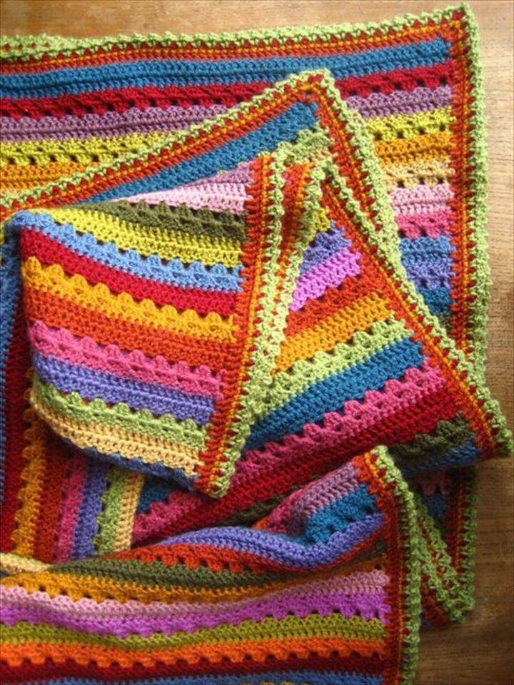 Cosy Blanket Edging
