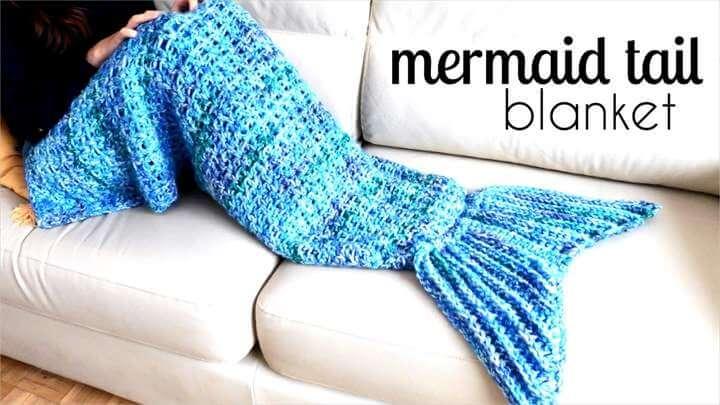 Mermaid Tail Crochet Pattern: