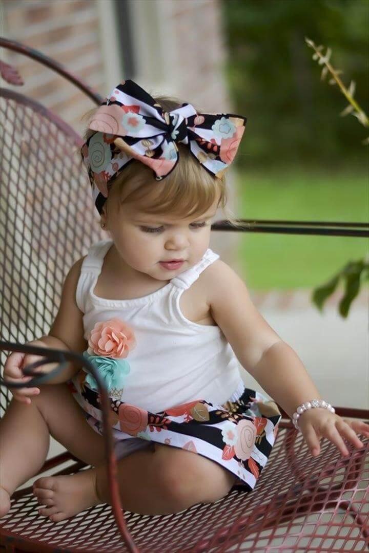Piper floral head wrap, Cute head wraps in many options for your mini