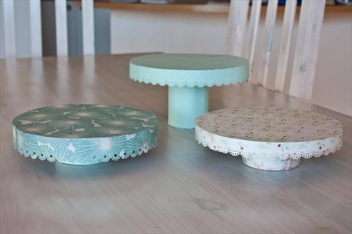 14 Amazing Diy Cool Cake Stand Ideas