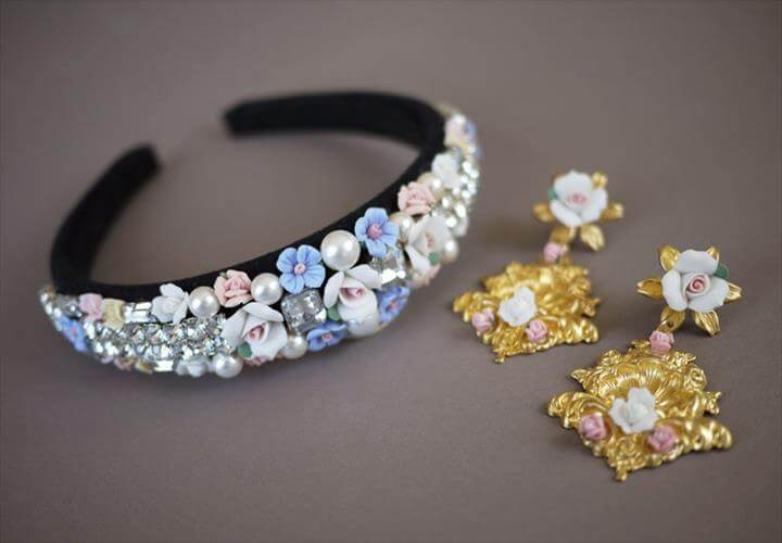 Embellished Headband ·