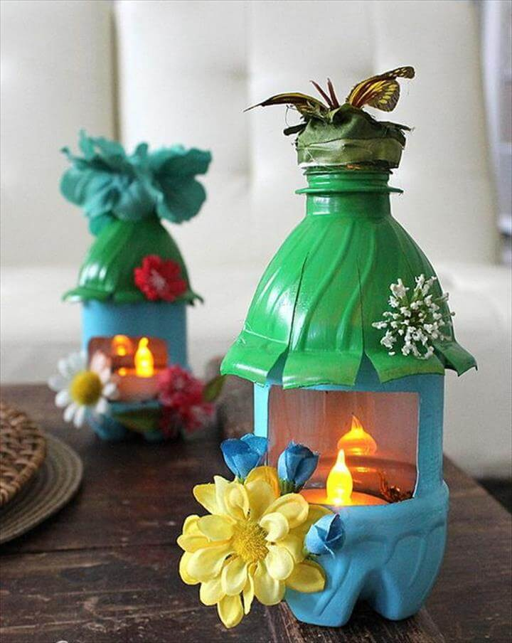 DIY Fairy House Night Lights