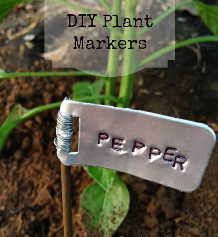DIY Garden Plant Marker