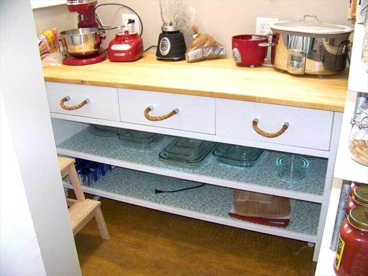 DIY Rope Pulls for Drawers