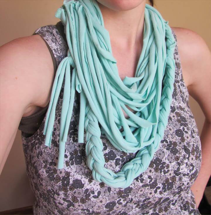 Craft Ideas DIY diy fashion DIY Scarves featured Scarves