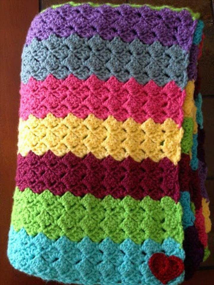 38 Gorgeous And Easy Crochet Blanket Patterns Amp Ideas