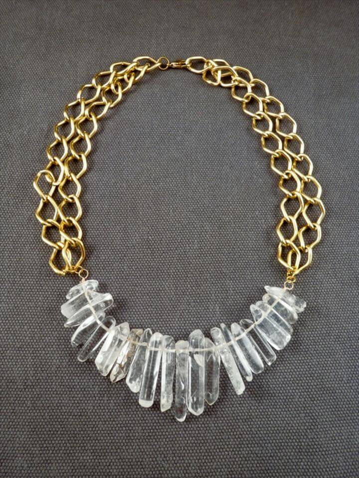 Gorgeous DIY Statement Necklace Ideas
