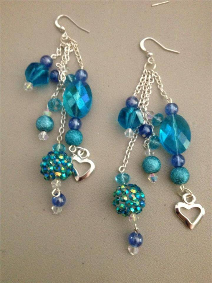 made earrings top 22 best easy handmade jewelry ideas diy to make 3276