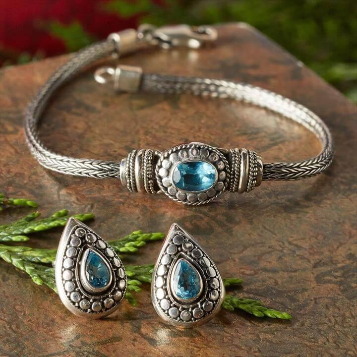Flores Aquamarine Jewelry