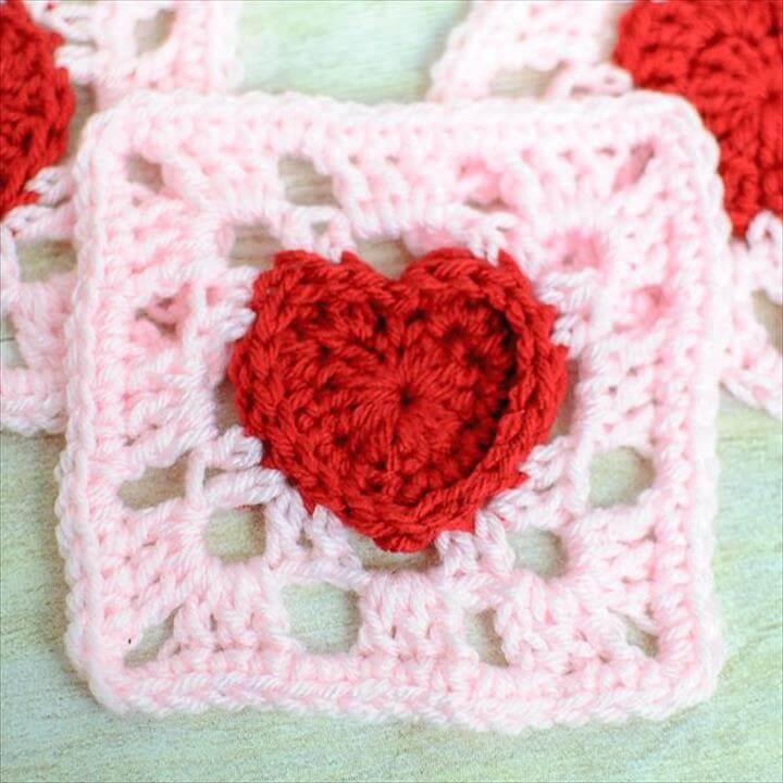 Granny square blanket,