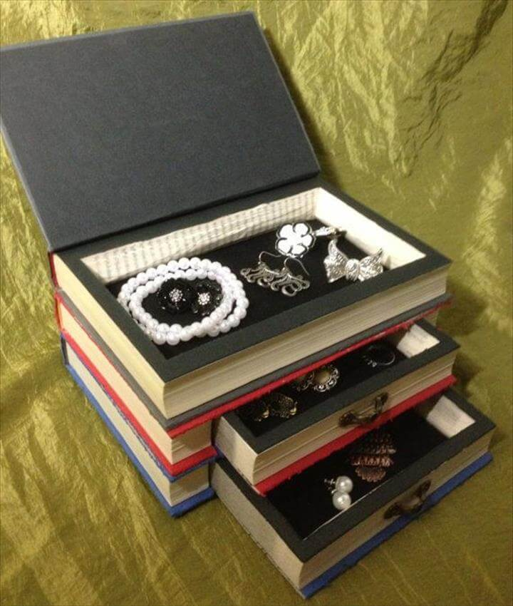 Hunger Games Book Jewelry Box