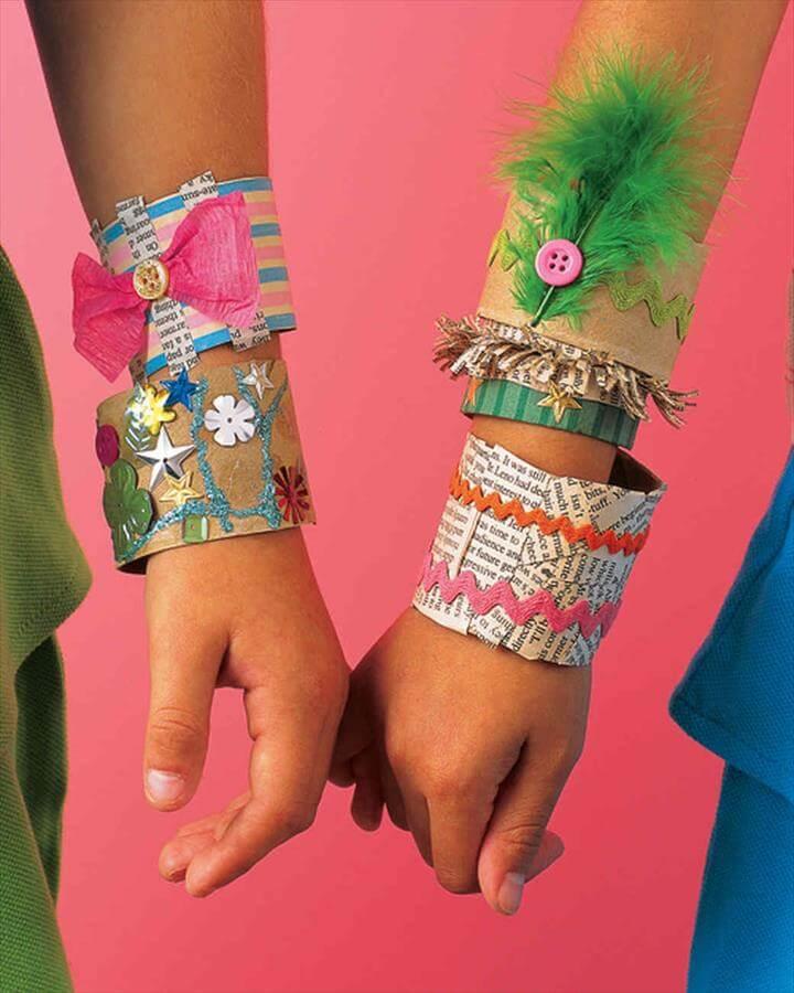 Kids' Paper Party Bracelet