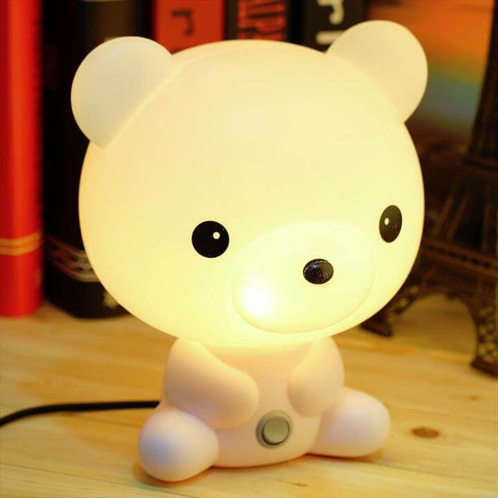 Kids Table Lamp Character