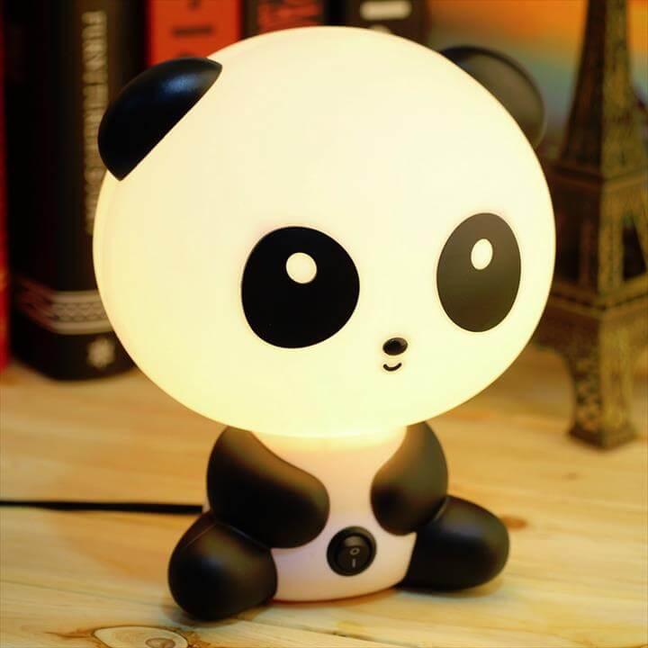 Kids Table Lamp Panda