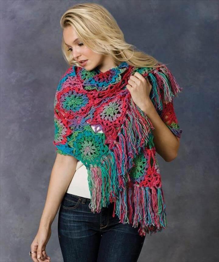 Lorelei Crochet Shawl Pattern: DIY