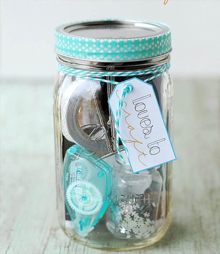 nice mason jar gift idea