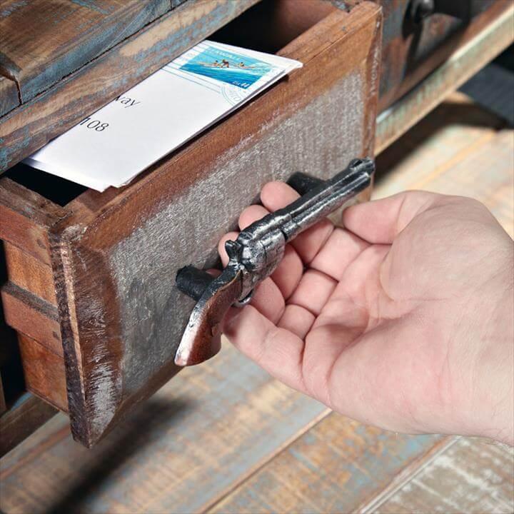 Gun Drawer Pull