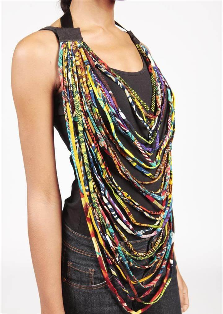 multiple ropes for a chic and unique look A new trend in fashion is the