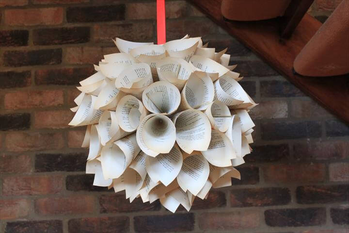 Christmas decorations - beautiful paper hanging decor