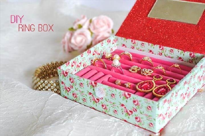 Top 17 Unique Handmade Jewelry Box Ideas DIY to Make