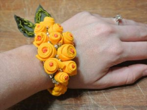 Image result for diy old tshirt ideas Old T Shirt Rosebud Bracelet