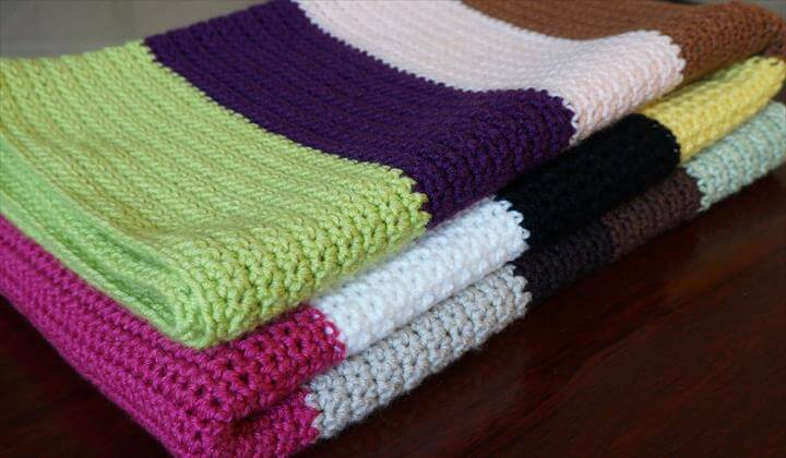 Image result for crochet blanket tutorial Single crochet blanket