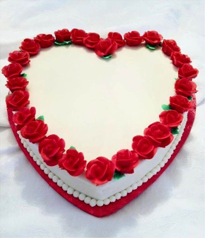 Sweet Heart Shaped Cake Design Ideas.