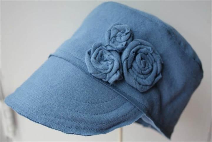 Tshirt Hats T-shirt Hat Tutorial
