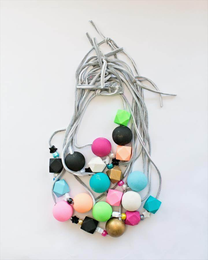 Image result for DIY t-shirt jewelry DIY T-Shirt and Beaded Necklace