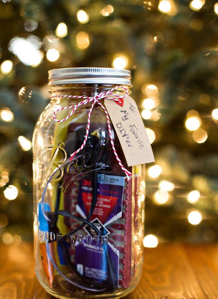 Mason Jar DIY Gift Idea