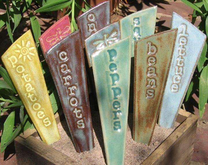 Plant Markers DIY Collection