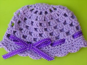 Crochet Baby Hat Simple