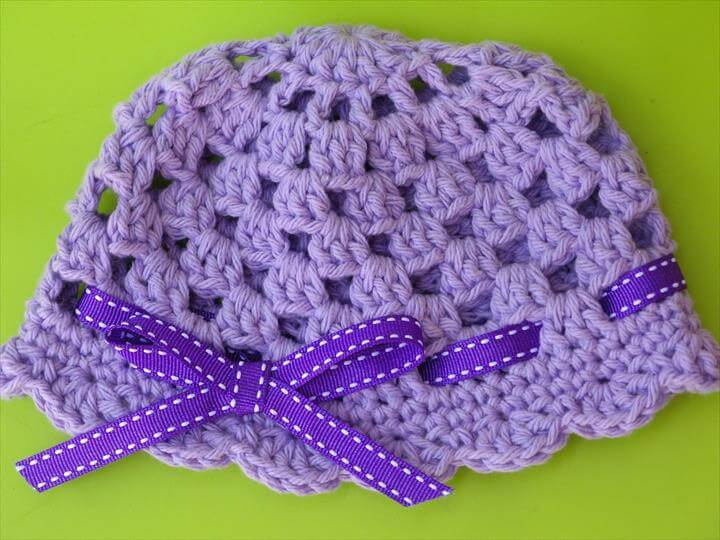 Crochet Baby Hat Simple