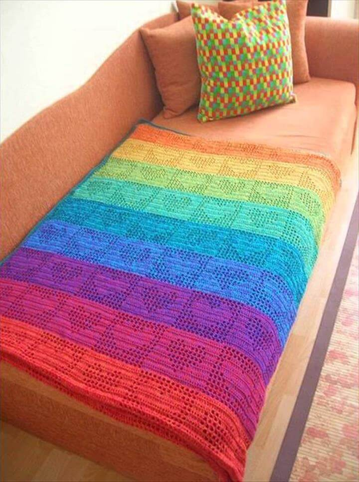 easy crochet blanket patterns