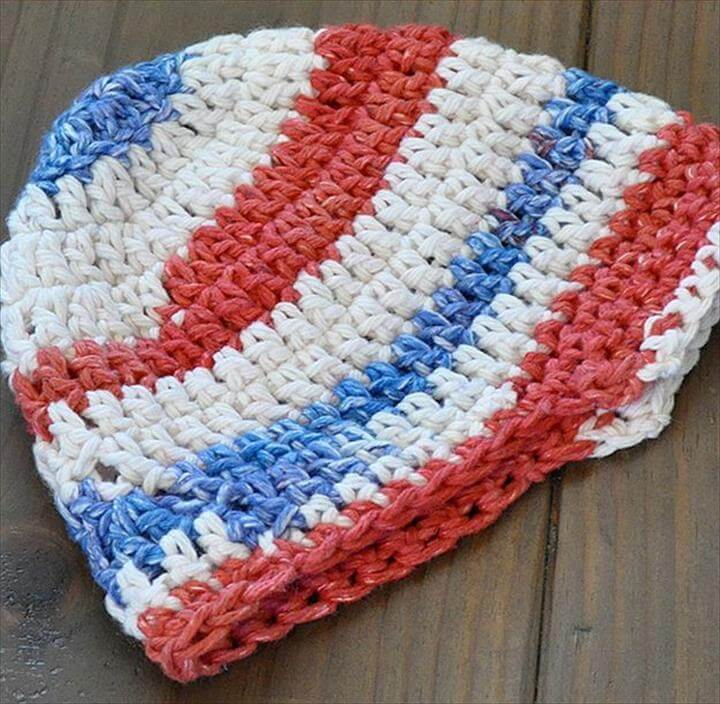 Crochet A Brimmed Hat