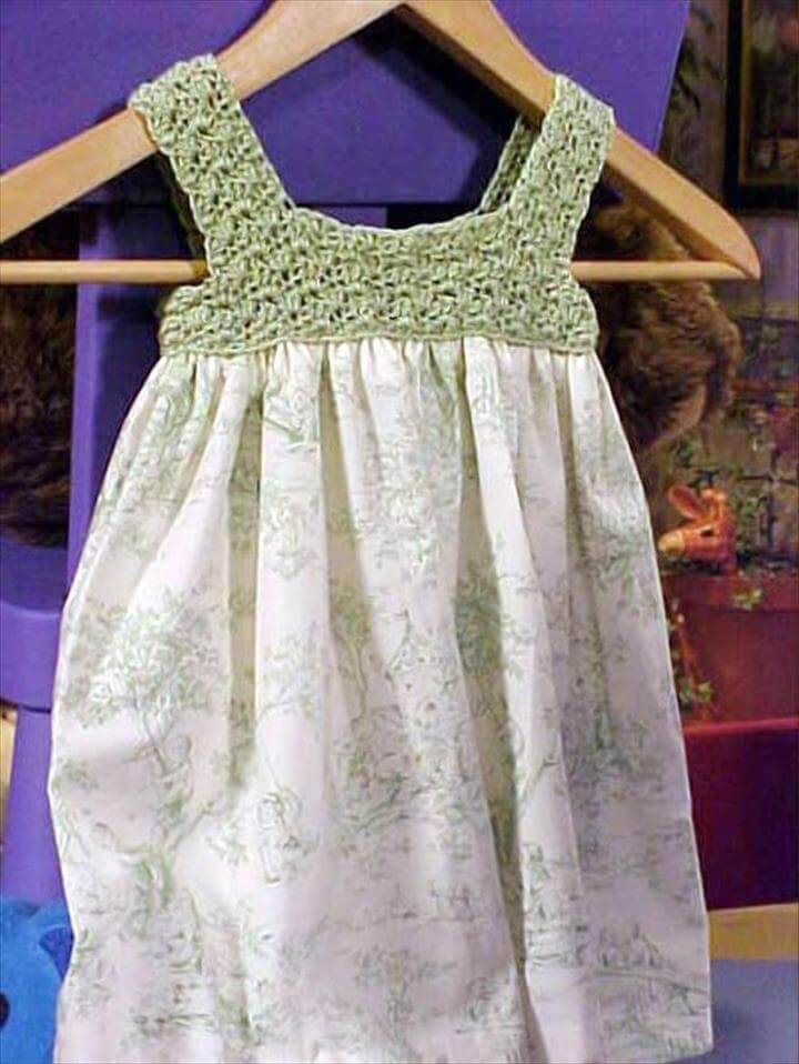 Crochet a Child's Dress