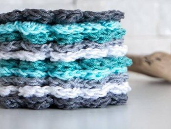 Easy crochet coaster free pattern | Simple DIY gift idea | Cotton yarn coasters