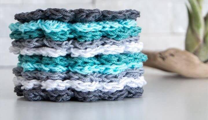 Easy crochet coaster free pattern | Simple DIY gift idea | Cotton yarn coasters