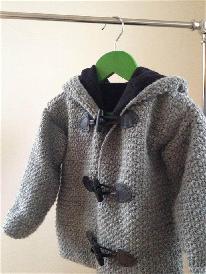 Crochet kids jackets