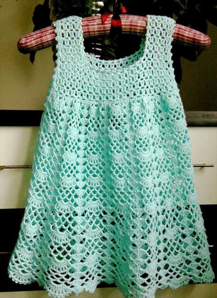 Crochet For Children: Beautiful Lacy Dress