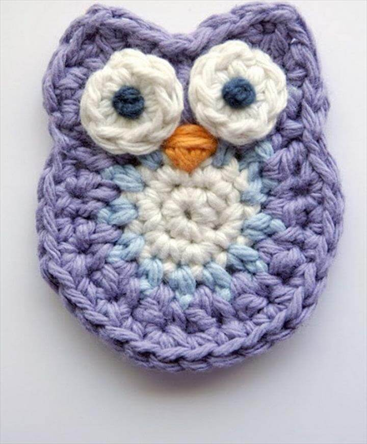 Cute Crochet Little Owl.