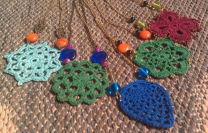 Crocheted Necklace Patterns