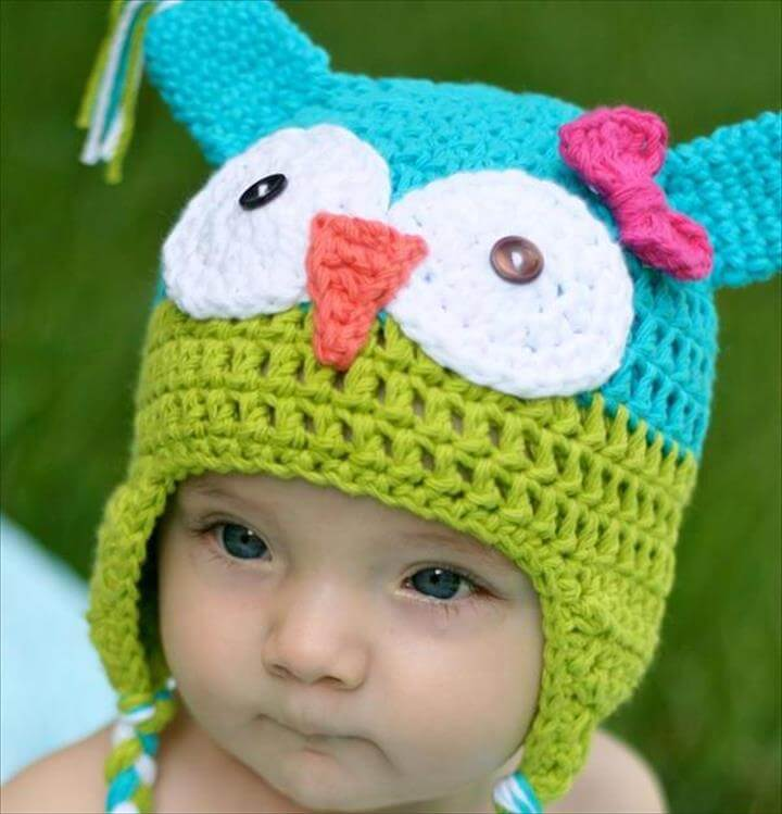 free crochet hat patterns for kids