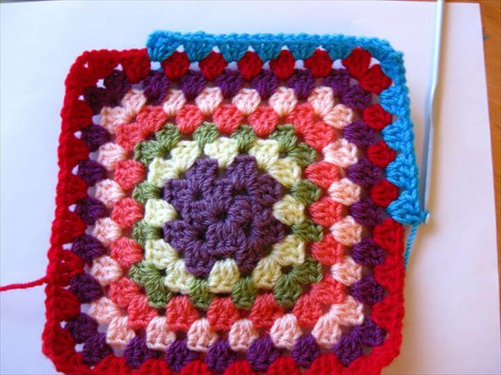Free Crochet Granny Square Patterns For Beginners : 20 Handmade Crochet Patterns For Beginners DIY to Make