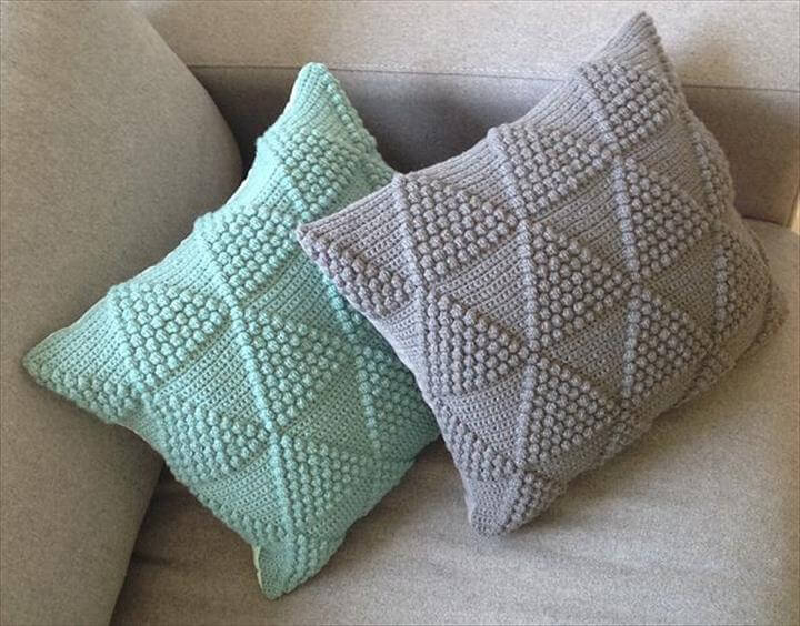 Hand Crochet Pillow
